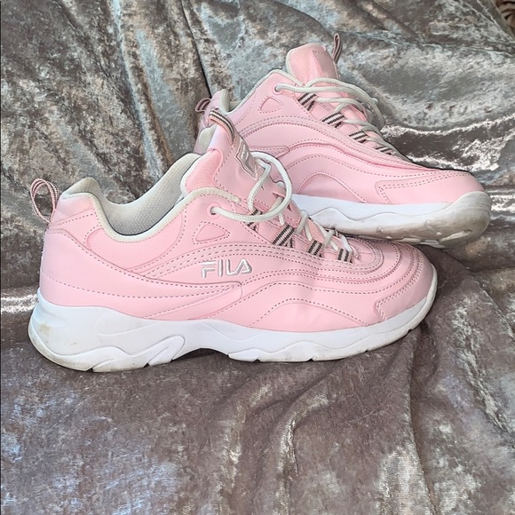 Baby Pink Fila Sneakers | Poshmark